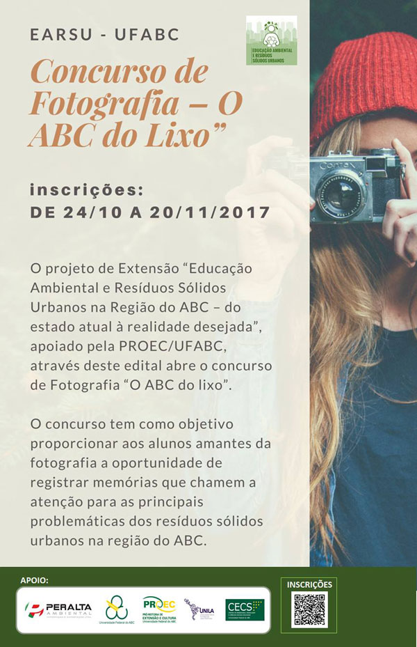 Concurso O ABC do Lixo cartaz