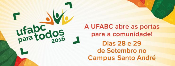 UFABC PARA TODOS 2016!