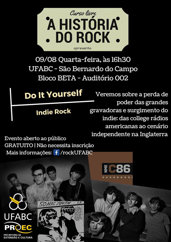Curso Livre A História do Rock - Do It Yourself: O surgimento das gravadoras independentes